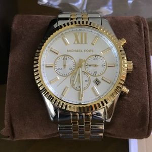 Men's Chronograph Lexington Two-Tone Watch